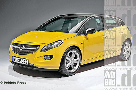 Opel Corsa ILLUSTRATION
