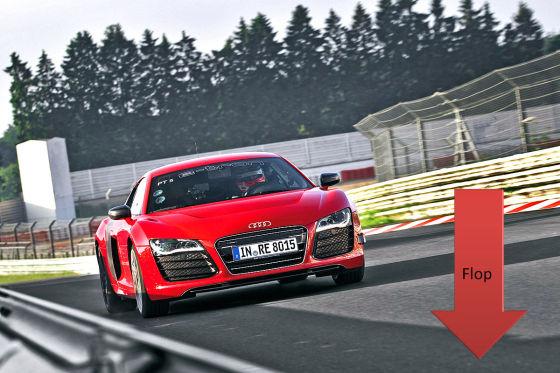 Flop: Audi R8 e-tron