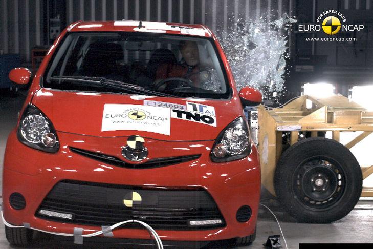 Toyota Aygo Crashtest