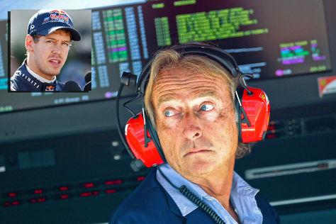 Luca di Montezemolo Sebastian Vettel