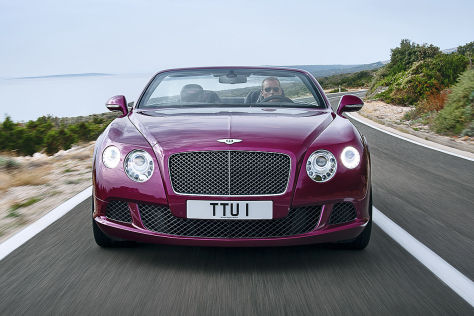 Bentley Continental GT Speed Cabrio