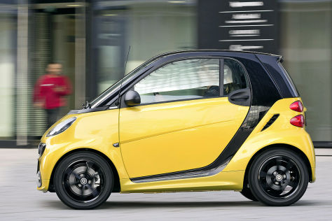 Smart fortwo Sondermodell edition cityflame