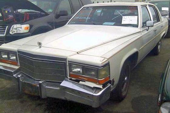 Cadillac Fleetwood unterm Hammer