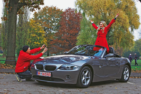 bmw z4 im gebrauchtwagen test. Black Bedroom Furniture Sets. Home Design Ideas