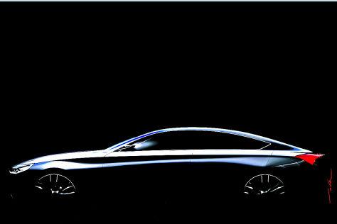 Hyundai-Studie für Detroit