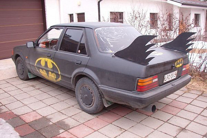 Batmobil Replik Replica