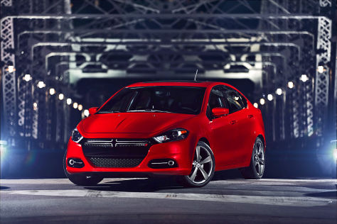 Dodge Dart GT: Detroit 2013