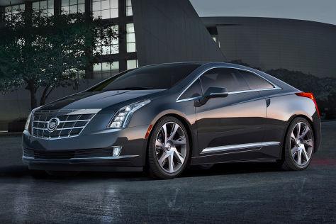 Cadillac ELR: Erlkönig