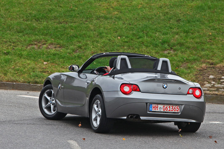gebrauchter bmw z4 im test bilder. Black Bedroom Furniture Sets. Home Design Ideas