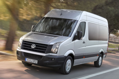VW Crafter Facelift 2011