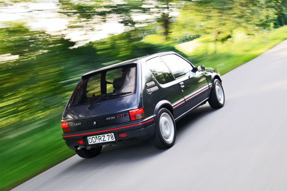 kaufberatung peugeot 205 gti. Black Bedroom Furniture Sets. Home Design Ideas