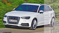 Audi A3 Plug-in-Hybrid: Autosalon Genf 2013