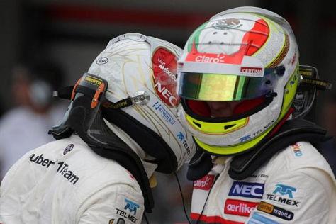 Trost vom Ex: Sergio Perez glaubt an die Zukunft des Kamui Kobayashi