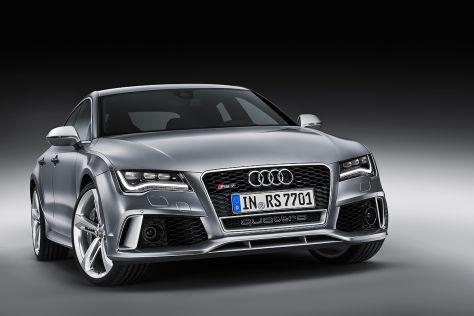 Audi RS 7: Detroit Motor Show 2013