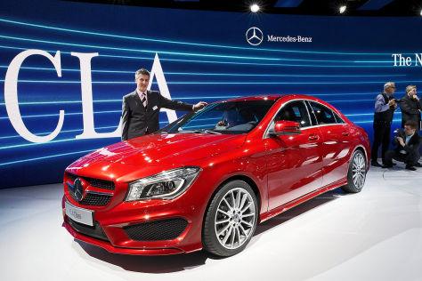 Mercedes CLA auf der Detroit Auto Show 2013