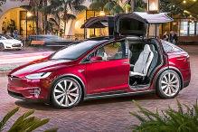 Tesla Model X: Detroit Auto Show 2013