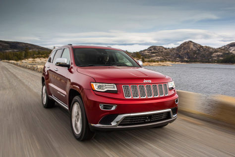 Jeep Grand Cherokee  (Modelljahr 2014)