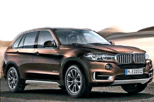 BMW X5 (F15): IAA 2013