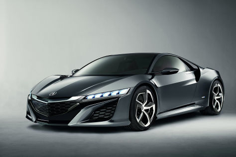 Honda/Acura NSX Concept: Detroit 2013