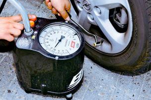 Reifenluft gegen Bares