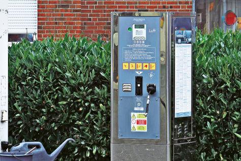 Shell Pilotprojekt: Ein-Euro-Luft