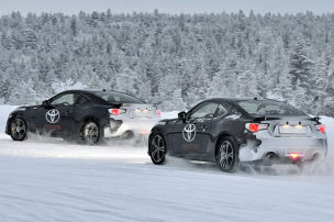Partneraktion: Bridgestone Winterreifentest
