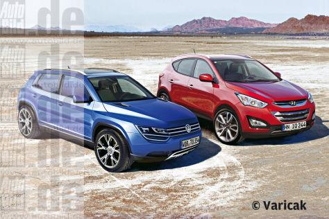 Hyundai vs. VW: Vorschau