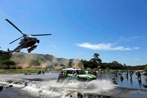 Stéphane Peterhansel im Mini All4 Racing auf der zehnten Etappe der Rallye Dakar 2013
