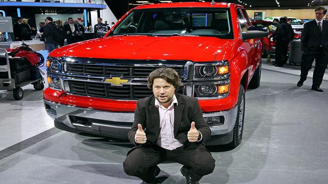 Der auto bild redakteure auf die neuheiten der detroit auto show 2013