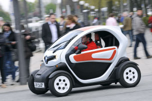Kaum Zuwachs wegen Twizy