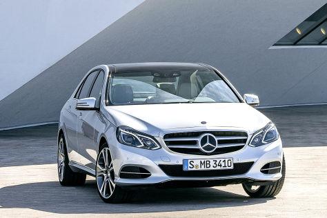 Mercedes E-Klasse Facelift 2013: Preise - autobild.de