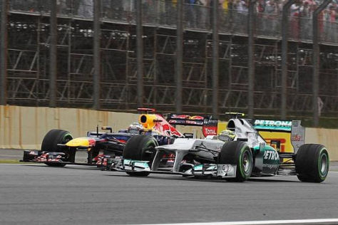 Sergio Perez glaubt, dass Nico Rosberg schneller als Sebastian Vettel ist