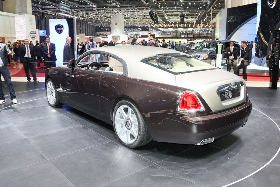 Rolls-Royce Wraith: Autosalon Genf 2013