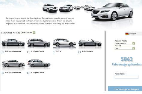 Saab Gebrauchtwagenbörse