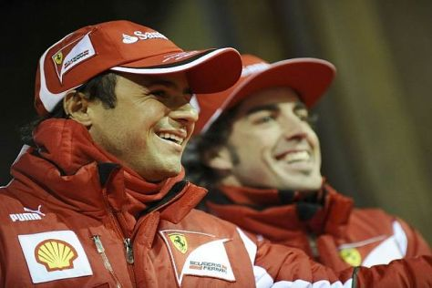 "Im ""Ernstfall"": Fernando Alonso würde sich offenbar auch hinter Felipe Massa stellen"