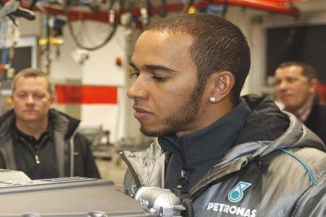 Lewis Hamilton strebt bei Mercedes keine Führungsrolle an