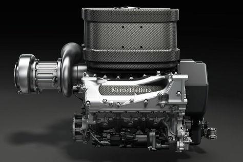 Mercedes Formel-1-Motor (2014)