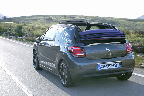 Citro&euml;n DS3 Cabrio: Fahrbericht