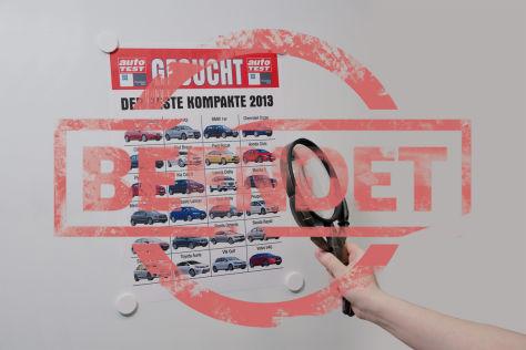 Aktion: Kompaktwagen im ZF-Praxistest 2012