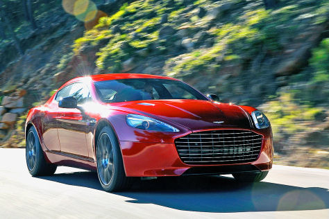 aston martin rapide s in genf luxus coup schafft 306 km. Black Bedroom Furniture Sets. Home Design Ideas