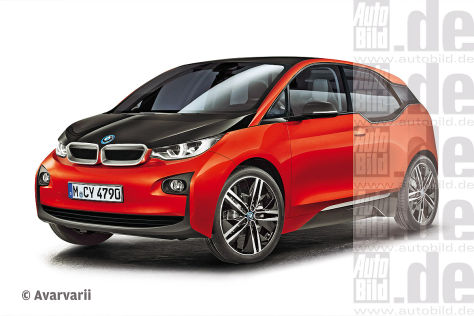 BMW i3 Illustration