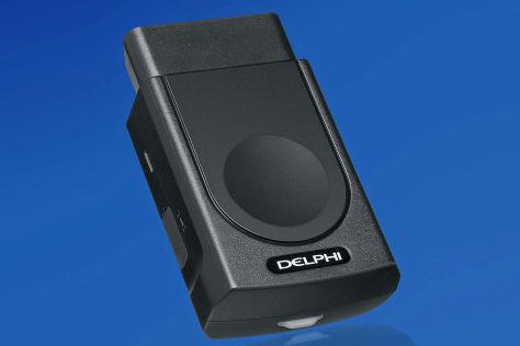 Delphi Smartphone Connected Car CES