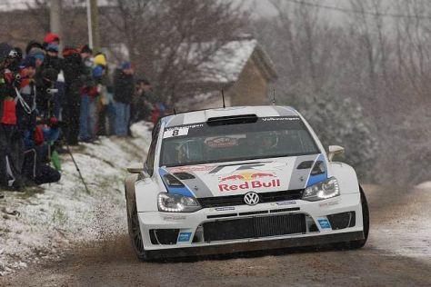Einstand nach Maß für Sebastien Ogier und Volkswagen in die Rallye-WM