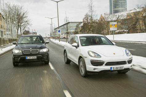  Porsche Cayenne S Diesel BMW X5 M50d