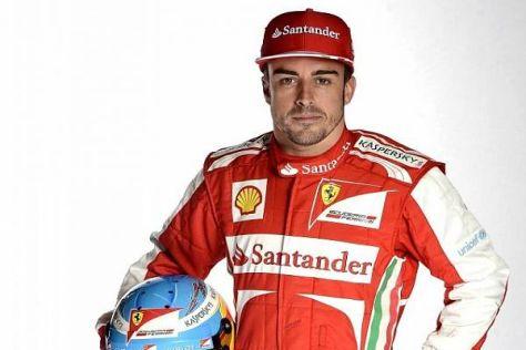 Fernando Alonso hat keine Eile, den neuen Ferrari auszuprobieren