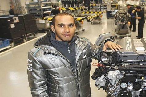 Lewis Hamilton vertraut auch nach 2104 auf Motoren von Mercedes