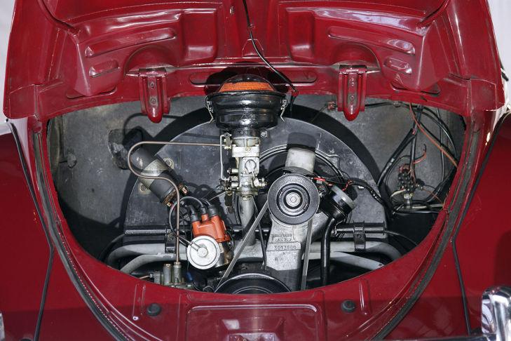 Käfer Ovali Typ 11, Motor