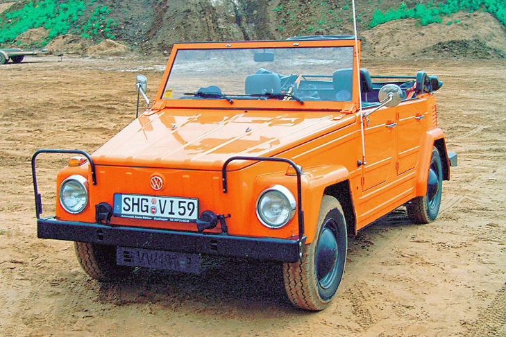 VW 181 orange