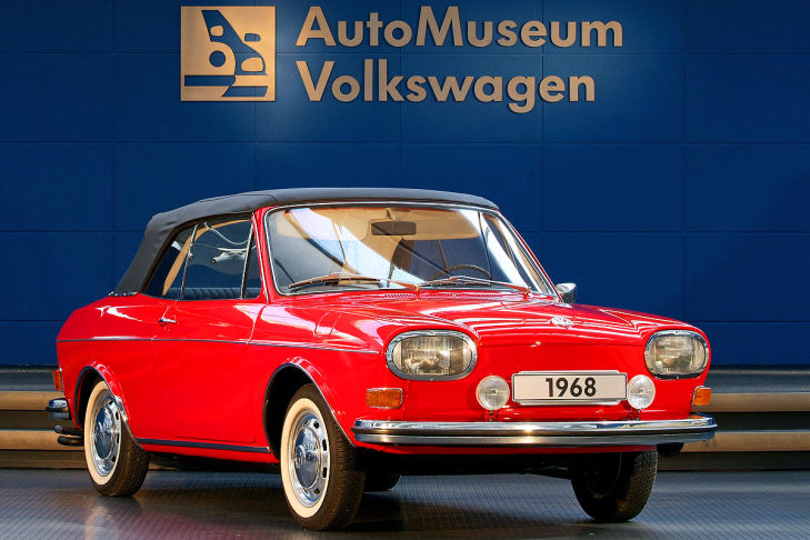 VW 411 Cabriolet Prototyp