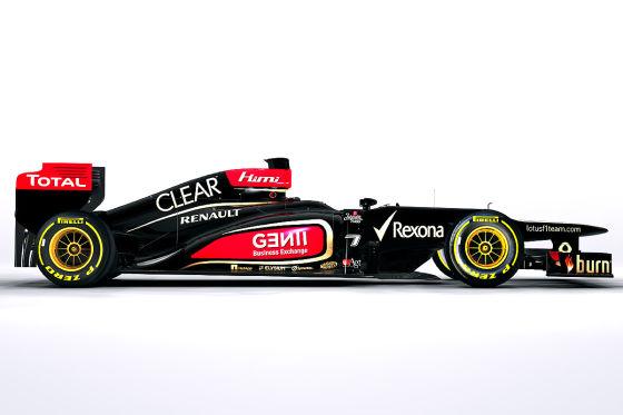 Enthüllung Lotus E21